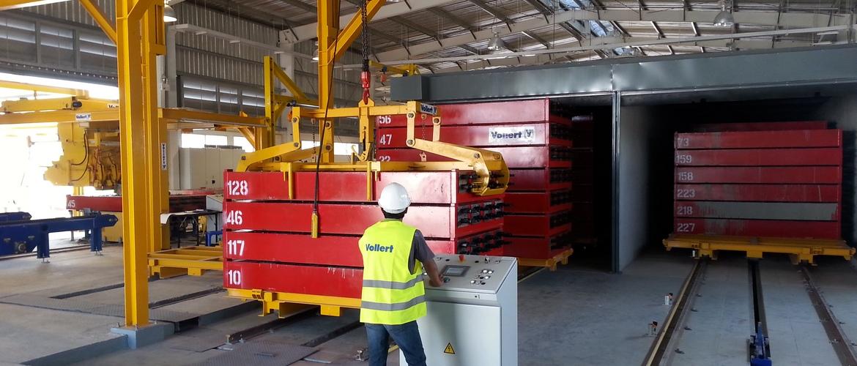 Concrete sleepers production plants | Vollert Anlagenbau GmbH
