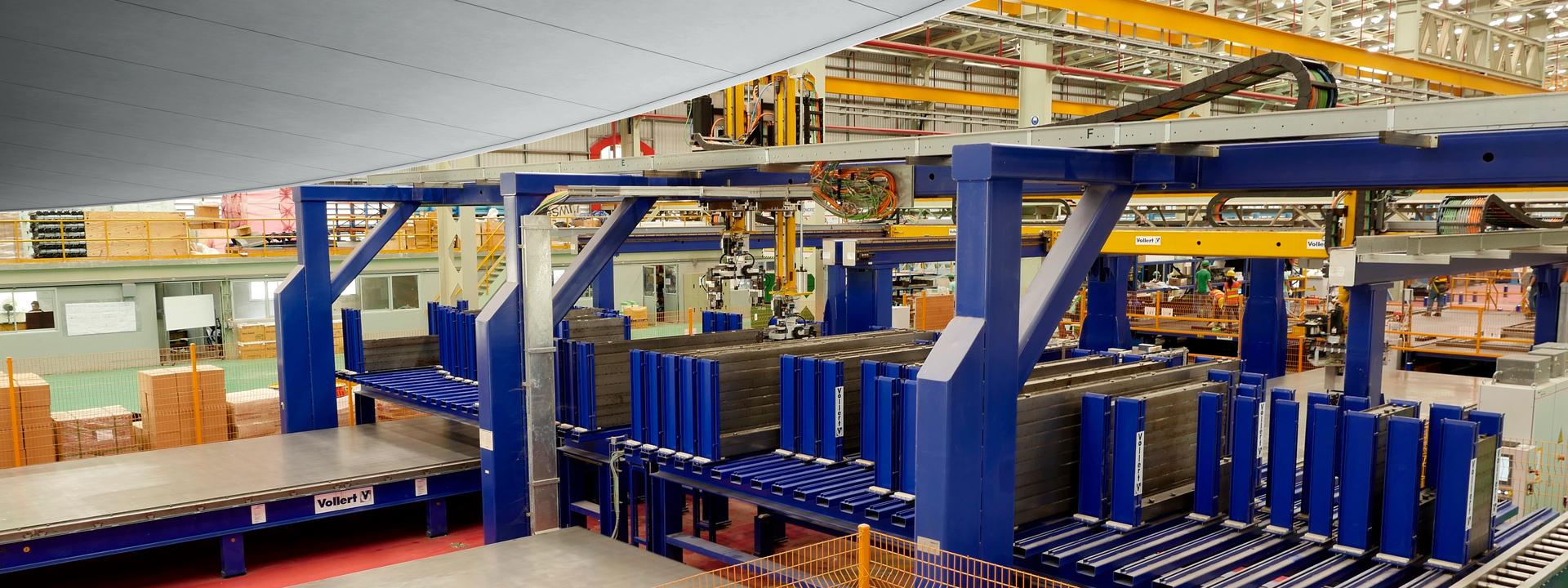 Precast concrete production | Vollert Anlagenbau GmbH