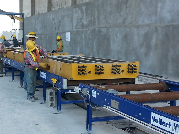 Prestressed Concrete Sleepers For The American Continent